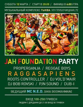 JAH FOUNDATION PARTY