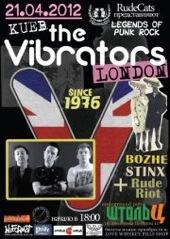 The Vibrators gig in Kyiv!